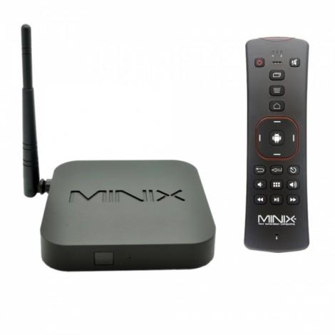 MINIX NEO X6 Quad-Core Android 4.4.2 Google TV Player + A2 Air Mouse (EU Plug) Black