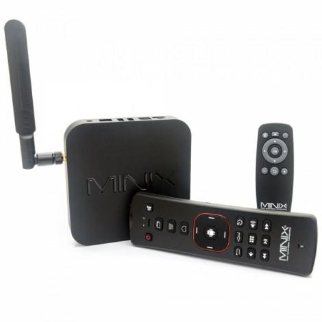 MINIX NEO X7 Quad-Core Android 4.2.2 Google TV Player + A2 Air Mouse with 2GB RAM/16GB ROM/IPTV (EU Standard) Black