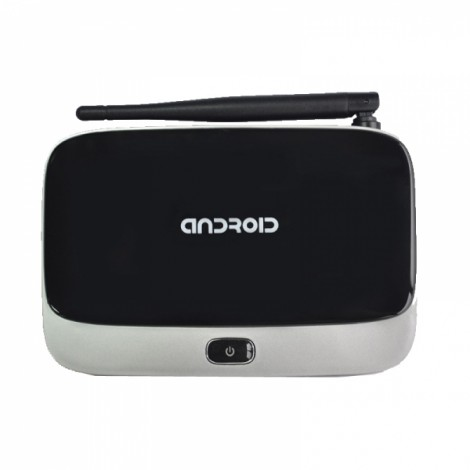 Android 4.4 OS RK3188  HDMI TV Box with AV USB TF Card Slot UK Plug