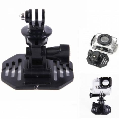 """H020 Universal 1/4"""" Screw Helmet Mount Holder for DV/Sports Camera/GoPro Hero 2/3/3 + Black"""
