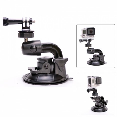 Hot Fat Cat 90mm Super Powerful Suction Cup Car Mount for GoPro Hero 3 +/3/2/1 Black