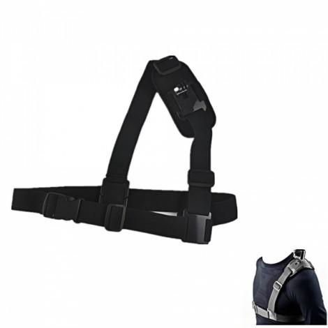 JUSTONE J007 New Adjustable Single Shoulder Strap for Sports Camera GoPro Hero 2/3/3 + Black