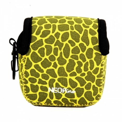 NEOpine Mini Protective Neoprene Camera Case Bag for GoPro Hero 2 / 3 / 3+ / 4 Yellow