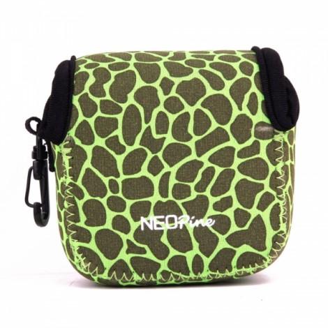NEOpine Mini Protective Neoprene Camera Case Bag for GoPro Hero 2 / 3 / 3+ / 4 Green