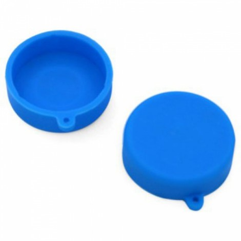 Silicone Lens Protective Cap for XiaoMi Yi Sports Camera Blue