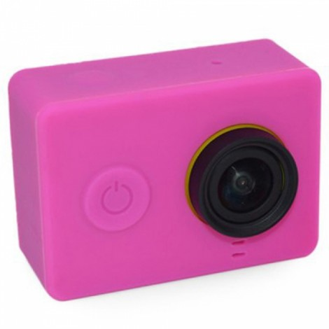 Protective Silicone Case for Xiaomi Xiaoyi Sports Camera Violet