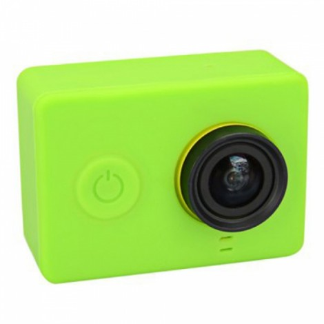 Protective Silicone Case for Xiaomi Xiaoyi Sports Camera Green