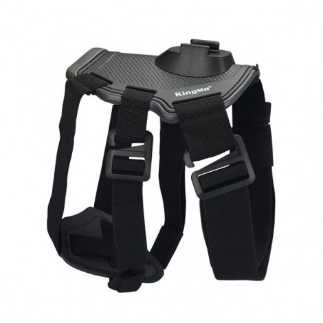 KingMa GoPro Accessories Dog Fetch Harness Chest Strap Shoulder Belt Mount for GoPro Hero 4 3 2 SJ4000 WIFI Camera