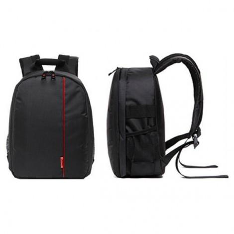 Tigernu T-C6003 Rain Proof Backpack DSLR Camera Lens Case Bag Rucksack for Canon Nikon Camera Black & Red