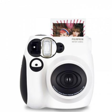 Fujifilm Instax MINI 7s White Instant Film Camera Black