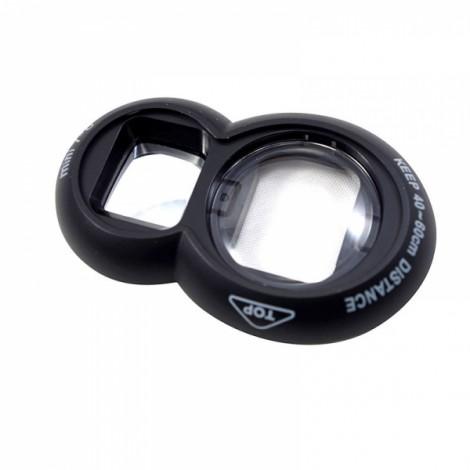 Self Portrait Mirror and Close Up Lens for Fujifilm Instax Mini 7/7S 8 Black