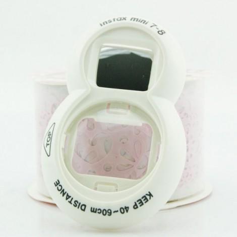 Self Portrait Mirror and Close Up Lens for Fujifilm Instax Mini 7/7S 8 White