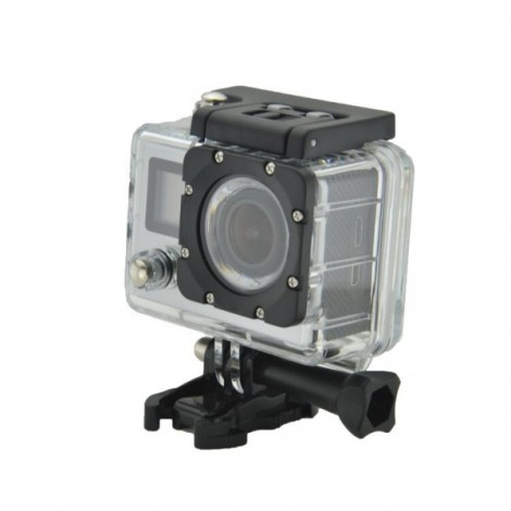 K1 4K WiFi Sports Camera 720P Mini Recorder - Silver