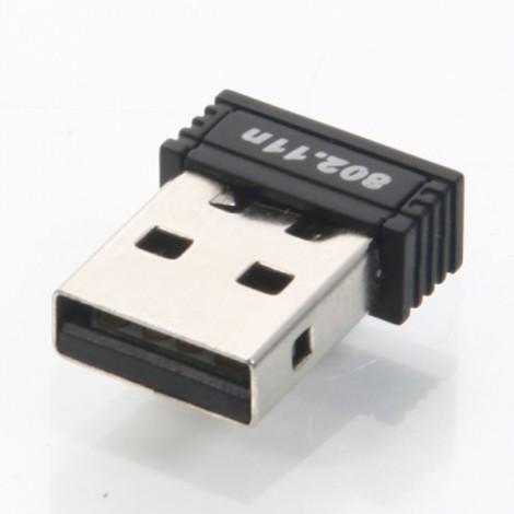 GE-LW04-150C4 150Mbps Mini Wireless USB Adapter Black