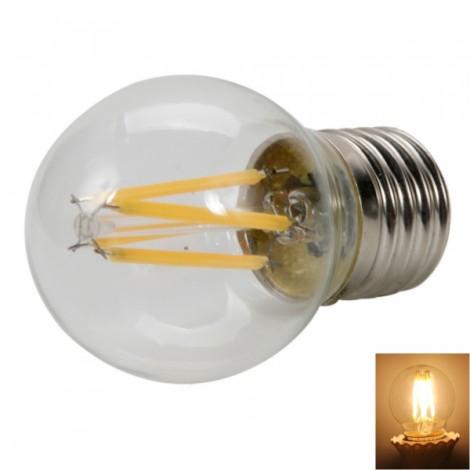 G45 E27 3.5W 2700K Warm White Light Sapphire Stand LED Tungsten Light Bulb ?220V?