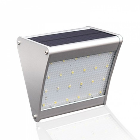 24 LED Solar Power w/ Microwave Radar Motion Sensor Lamp Light Outdoor