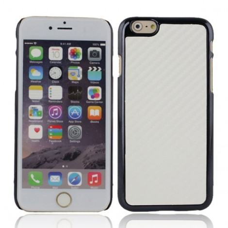 "Protective Plastic Back Case Cover for iPhone 6/6S 4.7"" White"
