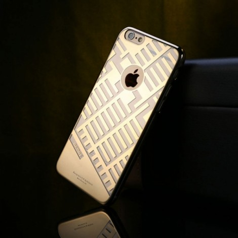REMAX Post Free Durable Case Protection Shell for iPhone 6 Plus Golden