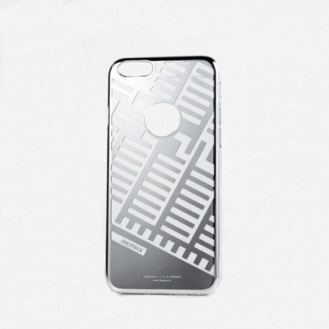 REMAX Post Free Durable Case Protection Shell for iPhone 6 Plus silver