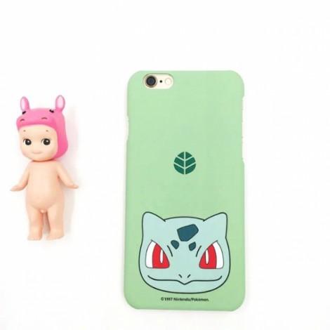 "Cute Cartoon Pokemon Series Bulbasaur Pattern Back Case Cover for iPhone 6/6S Plus 5.5"" Light Green"
