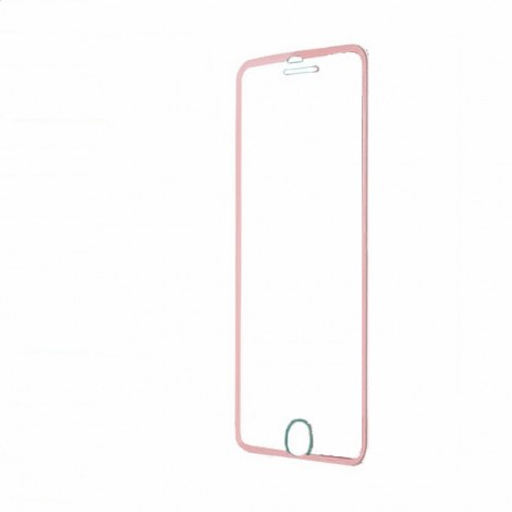 0.3mm Tempered Glass Screen Protector Cover for iPhone7 Rose Golden
