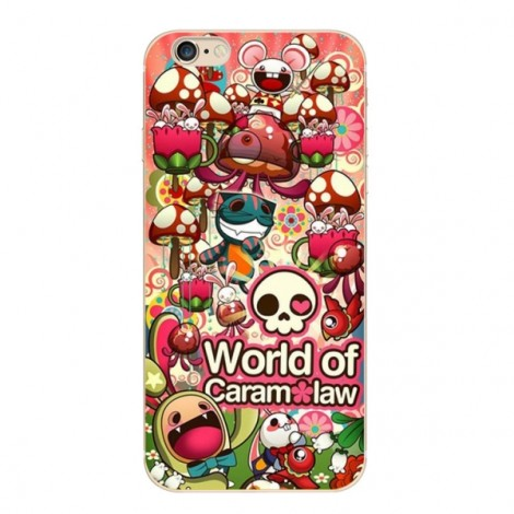 """Slim Soft TPU Skeleton Colorful Protective Back Case Cover for 4.7"""" Apple iPhone 6/6S 2#"""