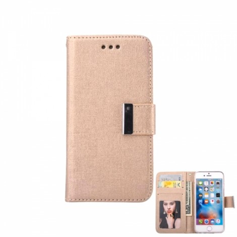 Oracle Style with Two-in-one Leather Case Holster for iPhone 7 Plus Light Golden