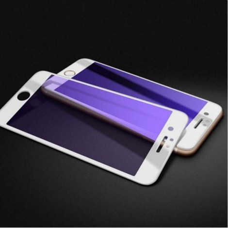 Full Cover 3D Anti Blue Ray Screen Protector for iPhone 7/8 White