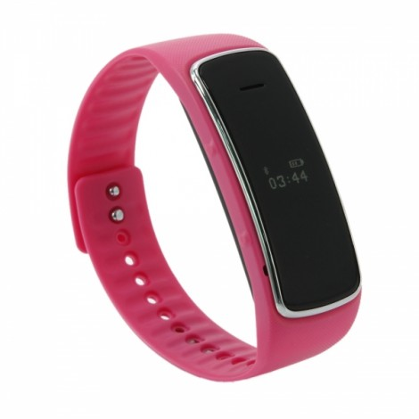 D3 Stylish Bluetooth Partner Smart Bracelet Red