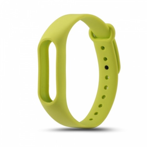 Xiaomi Replacement Silicone Wrist Strap Wrist Band for XIAOMI MI Band 2 Green