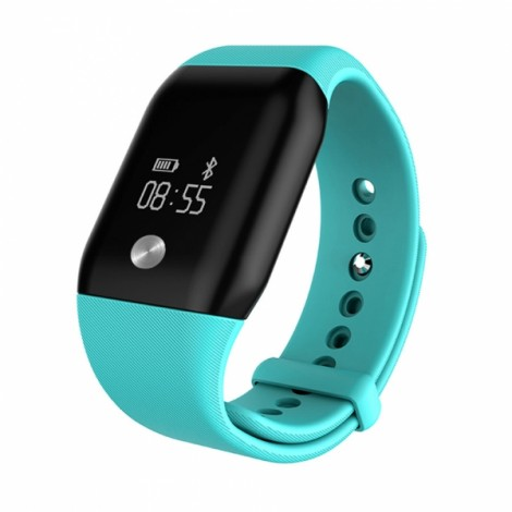 A88+ Bluetooth 4.0 Smart Watch Heart Rate Monitor Blood Oxygen Monitor for iOS iPhone Android - Green