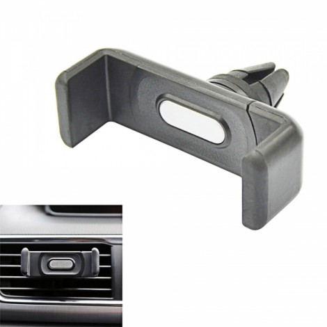 Upgraded Car Air-outlet Swivel Mount Holder for iPhone 6/6 Plus Black