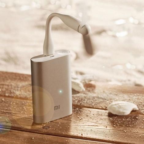 Original Xiaomi Portable USB Flexible Mini Fan White