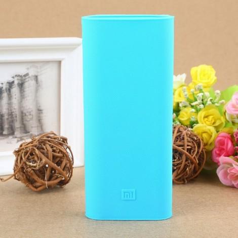 Original Protective Silicone Cover Case for Xiaomi 16000mAh Power Bank Blue