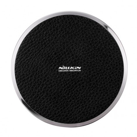Nillkin Magic Disk III Qi Standard Wireless Charger for Samsung iPhone Huawei Black