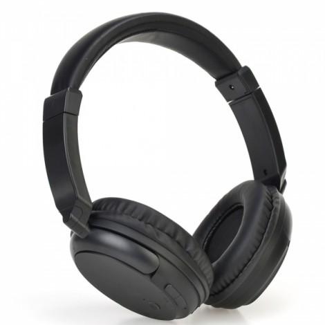 Stereo Bluetooth V4.1 Headset Sports Wireless Wired Headphone Earphone with Mic Black