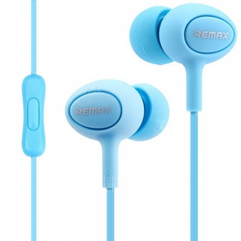 REMAX RM-515 In-ear Music Earphones with Microphone Blue