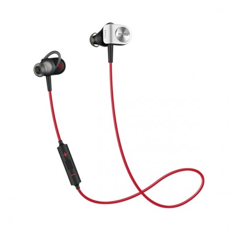 MEIZU EP-51 HiFi Music Sport Wireless Bluetooth Earphone Black & Red