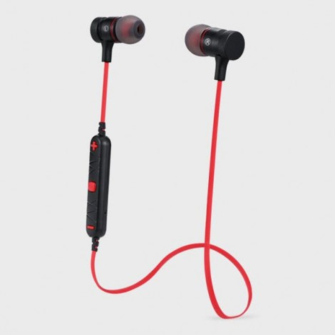 Awei A920BL Wireless Bluetooth 4.0 Sport Stereo Earphone with Connection Noise Reduction Mic for iPhone Samsung Red
