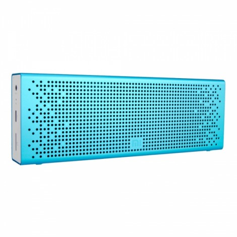 Xiaomi Micro-SD Aux-in Hands Free Stereo Pocket 1500mAh 3.8V Bluetooth Speaker Blue