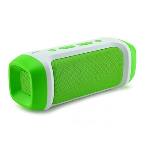 AODASEN JY-23 Stereo FM Radio TF Card AUX Wireless Bluetooth Speaker with Microphone Green