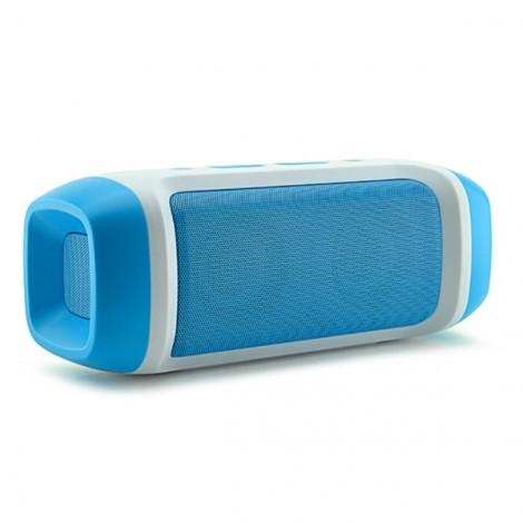 AODASEN JY-23 Stereo FM Radio TF Card AUX Wireless Bluetooth Speaker with Microphone Blue