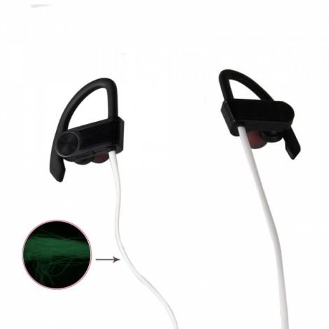 BH-1 New Music Smart Night Light Movement Bluetooth Headset Black