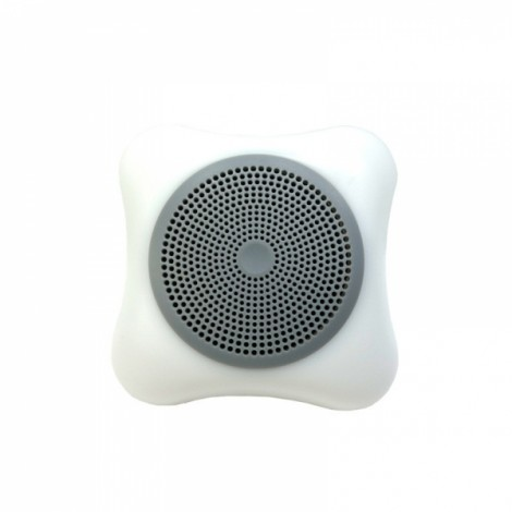 Wireless Mobile Phone Bluetooth Speaker LED Colorful Lights Small Portable Outdoor Sound Card Mini Subwoofer Gray