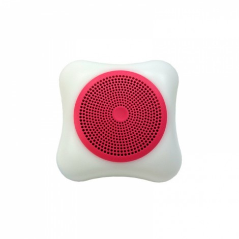 Wireless Mobile Phone Bluetooth Speaker LED Colorful Lights Small Portable Outdoor Sound Card Mini Subwoofer Red