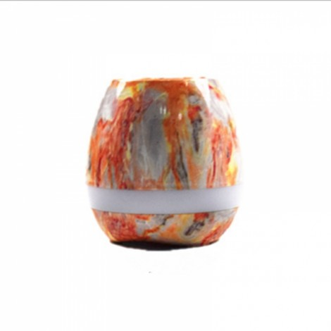 Smart Music Touch Sensor Bluetooth Stereo Piano Sound Music Flower Pot Light Colorful Stone