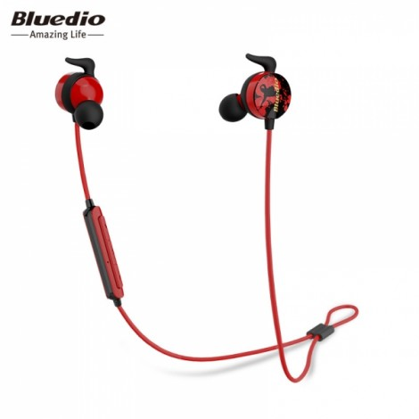 Bluedio AI Bluetooth 4.2 Wireless In Ear Built-in Mic Sport Earphone Headset