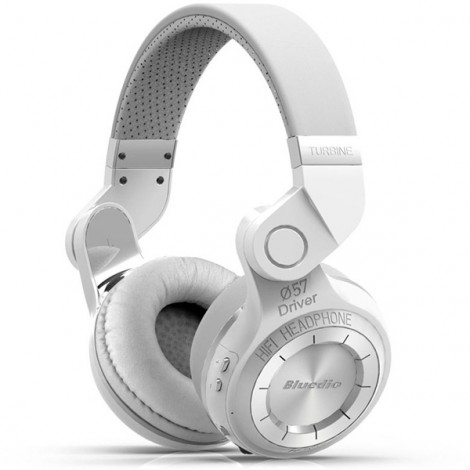 Bluedio T2 Foldable Style Bluetooth V4.1 +EDR Headset Wireless Headset - White
