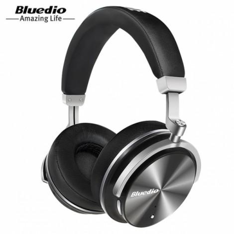 Bluedio T4 Active Noise Cancelling Wireless Bluetooth Headphones Headset Black