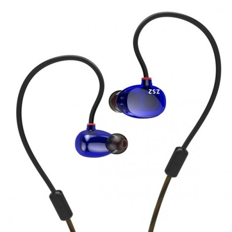 KZ ZS2 3.5mm In-ear Dual Dynamic Unit Heavy Bass Headphone without Mic